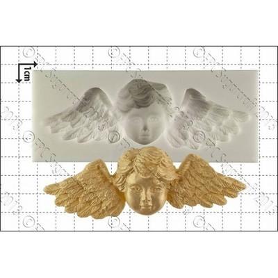 FPC - Winged Cherub Silicone Mould - Καλούπι Φτερωτό Αγγελάκι