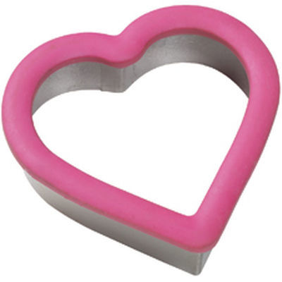 Wilton Grippy Cutter -Heart Cookie Cutter -Κουπάντ Καρδιά με λαβή σιλικόνης 10εκ