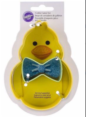 Wilton -Duck/Chick -κουπάτ Παπί με Παπιγιον.