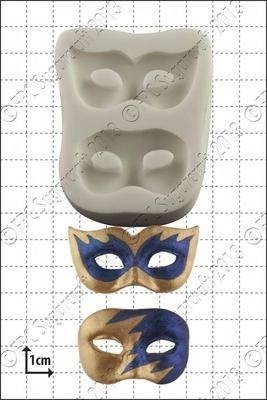 FPC - Masquerade Masks Silicone Mould - Καλούπι Μάσκες Μασκαρέματος