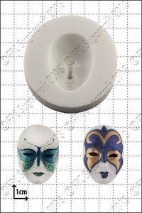 FPC - Venetian mask Silicone Mould - Καλούπι Βενετσιάνικες Μάσκες