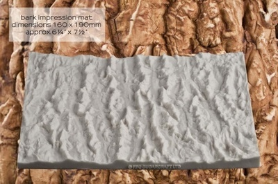 FPC Silicone Texture Mat -BARK -Καλούπι Φλοιό Δέντρου