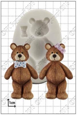 FPC -  Teddy Bear Silicone Mould - Καλούπι Αρκουδάκι