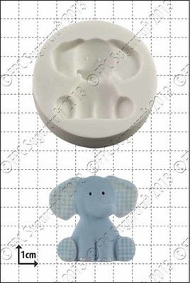 FPC - Nursery Elephant Silicone Mould - Καλούπι Παιδικός Ελέφαντας