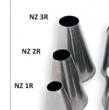 JEM Nozzle -ROUND SAVOY -SMALL No.1R -Μύτη Κορνέ Μικρή Στρογγυλή