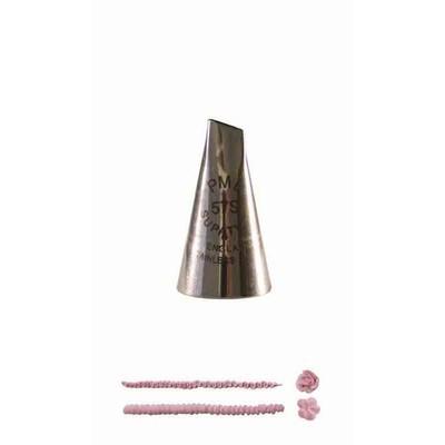 PME Nozzle -PETAL -LARGE for Right Handed -Μύτη Κορνέ Μεγάλο Πέταλο για Δεξιόχειρους No.58R