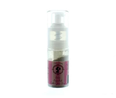 Claire Bowman - Pump Push Edible Glitter Dust Silver 10g - Μπουκαλάκι Αντλίας Βρώσιμη Χρυσόσκονη Ασημένια - 10γρ