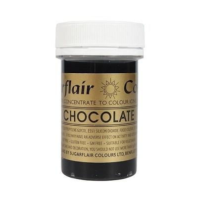Sugarflair Paste Colours -CHOCOLATE -Χρώμα Πάστα -Σοκολάτα