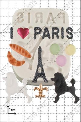 FPC - Paris Silicone Mould - Καλούπι Παρίσι