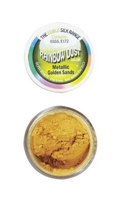 Rainbow Dust Edible Dust -Metallic GOLDEN SANDS -Βρώσιμη Σκόνη Μεταλλική Χρυσό της Άμμου