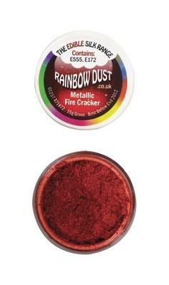 Rainbow Dust Edible Dust -Metallic FIRE CRACKER -Βρώσιμη Σκόνη Μεταλλική Κόκκινο Πυροτέχνημα