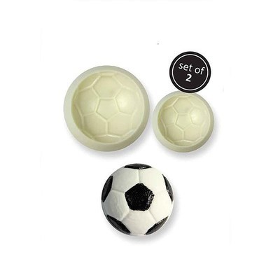 JEM Pop It Mould FOOTBALL -Καλούπι Μπάλα Ποδοσφαίρου -2 τεμ.