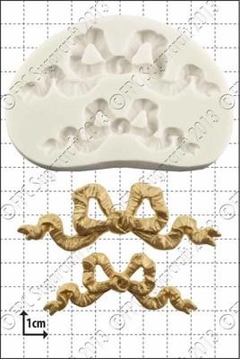 FPC Silicone Mould -RIBBON BOWS -Καλούπι Φιόγκο Κορδέλα
