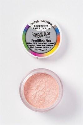 Rainbow Dust - Edible Dust Pearl Blush Pink - Βρώσιμη Σκόνη Περλέ Απαλό Ροζ