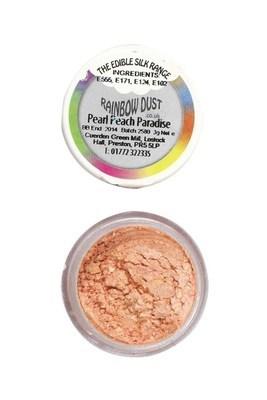 Rainbow Dust - Edible Dust Pearl Peach Paradise - Βρώσιμη Σκόνη Περλέ Παραδεισένιο Βερικοκί