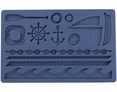Wilton Silicone Mould -NAUTICAL -Φόρμα Σιλικόνης -ΝΑΥΤΙΚΑ