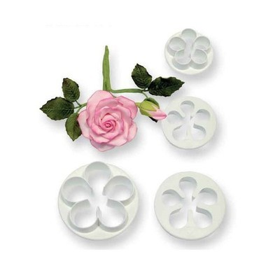 PME 5 Petal Cutters -SMALL set of 4 -Κουπάτ Λουλουδιού με 5 Πέταλα -4 τεμ