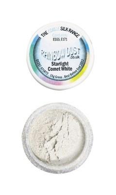 Rainbow Dust Edible Dust -Shimmer COMET WHITE -Βρώσιμη Σκόνη Λευκός Κομήτης