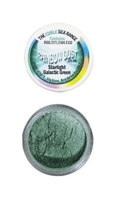Rainbow Dust Edible Dust -Starlight GALACTIC GREEN -Βρώσιμη Σκόνη Αστραφτερό Γαλαξιακό Πράσινο