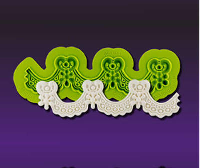 SALE!!! Marvelous Molds Silicone mould -MAXINE LACE -Καλούπι Δαντέλα Μαξίν