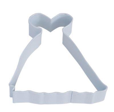 By AH -Cookie Cutter PRINCESS GOWN -Κουπάτ Φόρεμα Πριγκίπισσας 10εκ