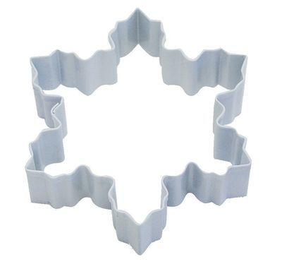 By AH -Cookie Cutter SNOWFLAKE -WHITE -LARGE -Κουπάτ Λευκή Χιονονιφάδα Μεγάλη 10εκ
