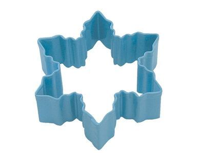 By AH -Cookie Cutter SNOWFLAKE -BLUE -Κουπάτ Μπλε Χιονονιφάδα Μικρή 9εκ