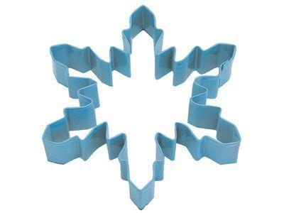 By AH -Cookie Cutter SNOWFLAKE -BLUE -LARGE -Κουπάτ Μεγάλη Μπλε Χιονονιφάδα 13εκ