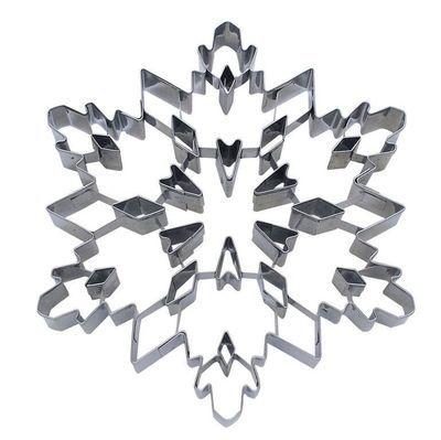 By AH -PUNCH-OUT Cookie Cutter -SNOWFLAKE -Κουπάτ Χιονονιφάδα με Εσωτερικό Σχέδιο 19εκ