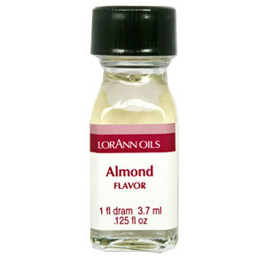 LorAnn - Oils Super Strength Food Flavouring Almond - Φυσικό Έλαιο Αμυγδάλου - 3.7ml