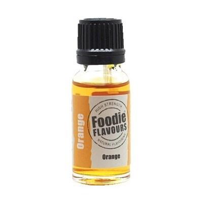 Foodie Flavours - Natural Orange Flavouring - Φυσικό Άρωμα με Γεύση Πορτοκάλι - 15ml