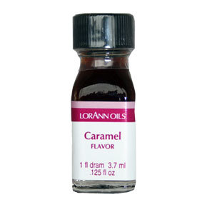 LorAnn - Oils Super Strength Food Flavouring Caramel - Φυσικό Έλαιο Καραμέλας - 3.7ml