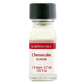 LorAnn - Oils Super Strength Food Flavouring Cheesecake - Φυσικό Έλαιο Τσίζκεϊκ - 3.7ml