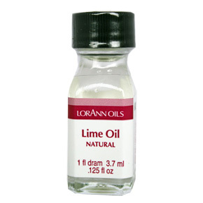 LorAnn - Oils Super Strength Food Flavouring Lime - Φυσικό Έλαιο Λάϊμ - 3.7ml
