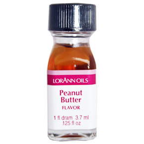 LorAnn - Oils Super Strength Food Flavouring Peanut Butter - Φυσικό Έλαιο Φυστικοβούτυρο - 3.7ml