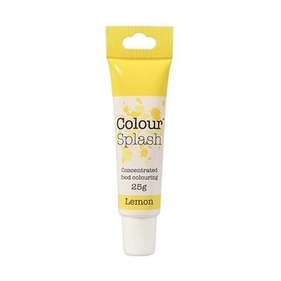 Colour Splash GEL -LEMON -Χρώμα Πάστας -Λεμονί 25γρ