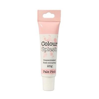 Colour Splash GEL -PALE PINK -Χρώμα Πάστας -Αχνό Ροζ 25γρ