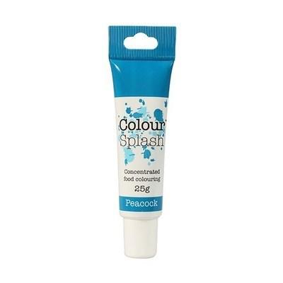 Colour Splash GEL -PEACOCK BLUE -Χρώμα Πάστας -Παγώνι (Μπλε) 25γρ