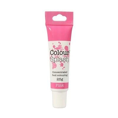 Colour Splash GEL -PINK -Χρώμα Πάστας -Ροζ 25γρ