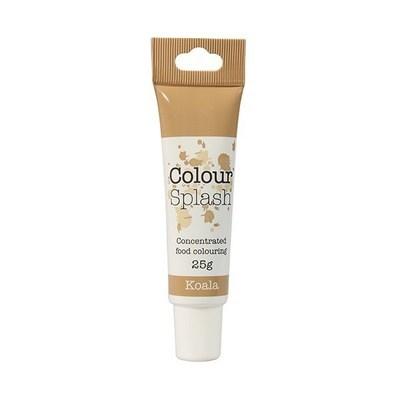 Colour Splash GEL -KOALA (LIGHT BROWN) -Χρώμα Πάστας -Ανοιχτό Καφέ 25γρ