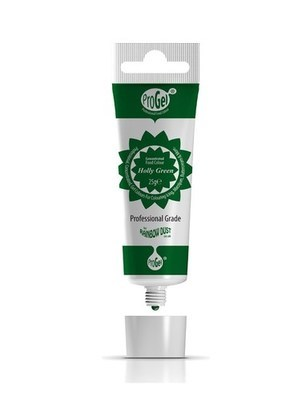 Rainbow Dust - ProGel® Holly Green - Χρώμα Πάστα/Ζελέ Βαθύ Πράσινο - 25γρ