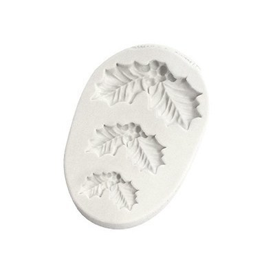 Katy Sue Silicone Mould -HOLLY TRIO -Καλούπι Γκι