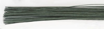 Culpitt - Floral Wire Dark Green 22gauge - Σύρμα Λουλουδιών -Σκούρο Πράσινο - 20τεμ/πακέτο - 0,64χιλ