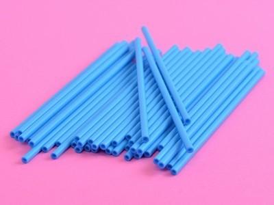 Cake Pop Sticks -BLUE -Μπλε Στικάκια για Cake Pops -15εκ -25τμχ