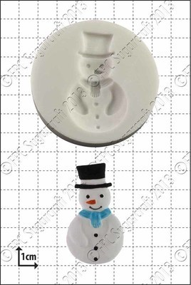 By FPC -Silicone Mould -SNOWMAN -Καλούπι Χιονάνθρωπος