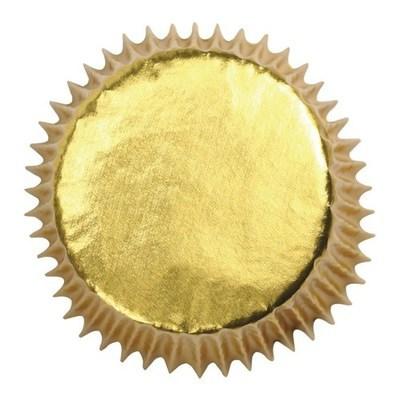 Culpitt Cupcake Cases -METALLIC GOLD -Αλουμινένιες Θήκες Ψησίματος -Μεταλλικό Χρυσό 45 τεμ