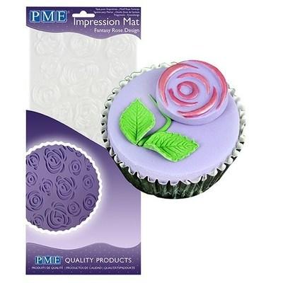PME Impression Mat -FANTASY ROSE -Βάση Αποτύπωσης Σχεδίου Τριαντάφυλλο
