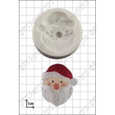 FPC Silicone Mould -FATHER CHRISTMAS -SANTA -Καλούπι Άγιος Βασίλης