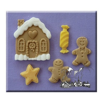 Alphabet Moulds -CHRISTMAS COOKIES -Καλούπι Χριστουγεννιάτικα Μπισκότα
