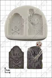 By FPC -Silicone Mould -TOMBSTONES -Καλούπι Ταφόπλακες
